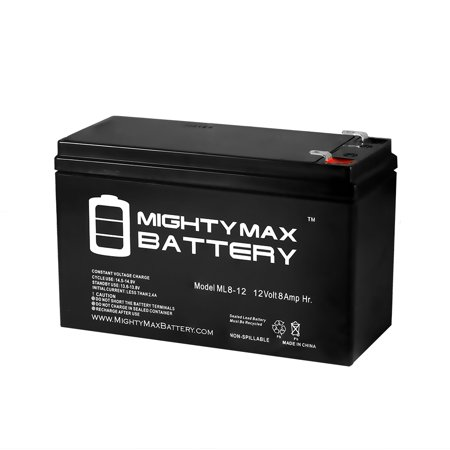 12V 8Ah Scooter Battery Replaces Energy Power Ep Sla12 8