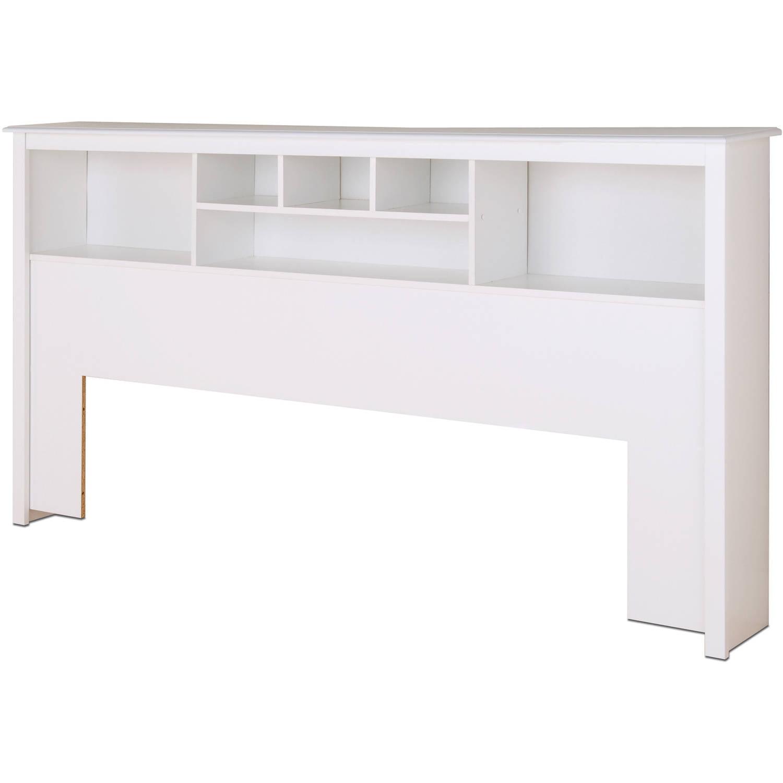 Prepac Monterey King Bookcase Headboard White Walmart Com