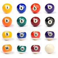 Deals on Pool Table Billiard Ball Set 16 Balls