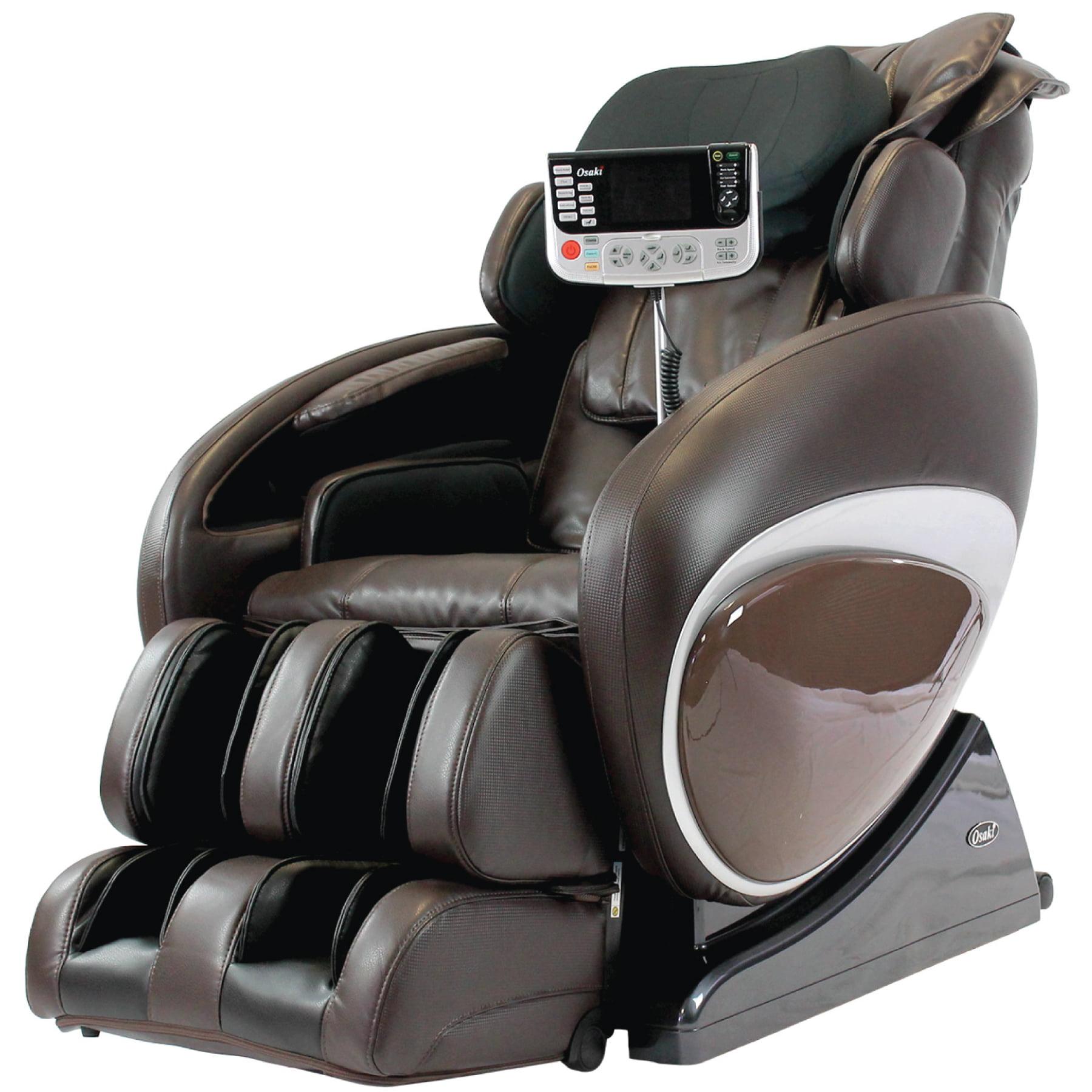 Osaki OS-4000T Zero Gravity Massage Chair, Brown, Computer Body Scan, Zero Gravity Design, Unique Foot Roller, Next Generation Air Massage Technology, Arm Air Massagers, Auto Recline and Leg Extension