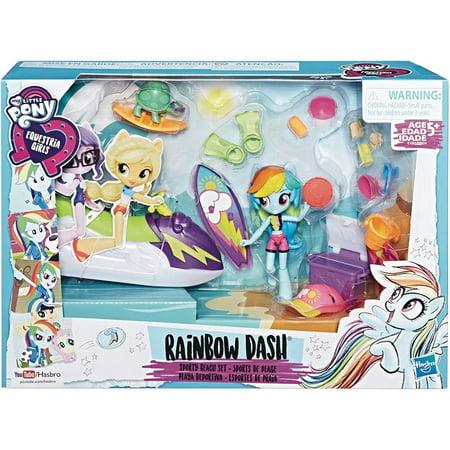 My Little Pony Minis Rainbow Dash Sporty Beach Playset](Rainbow Dash Colors)