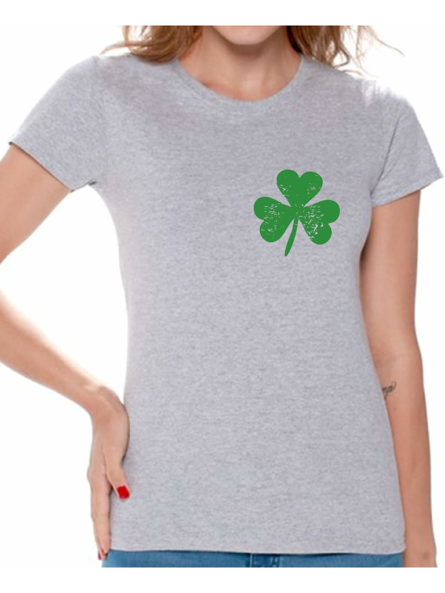 Distressed Shamrock Baby Bodysuit For St Patrick/'s Day Cute Lucky Green Patty/'s