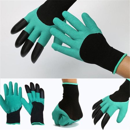 Gardening Gloves for Garden Digging Planting with 8 Claws Protection Gloves - image 4 of 11