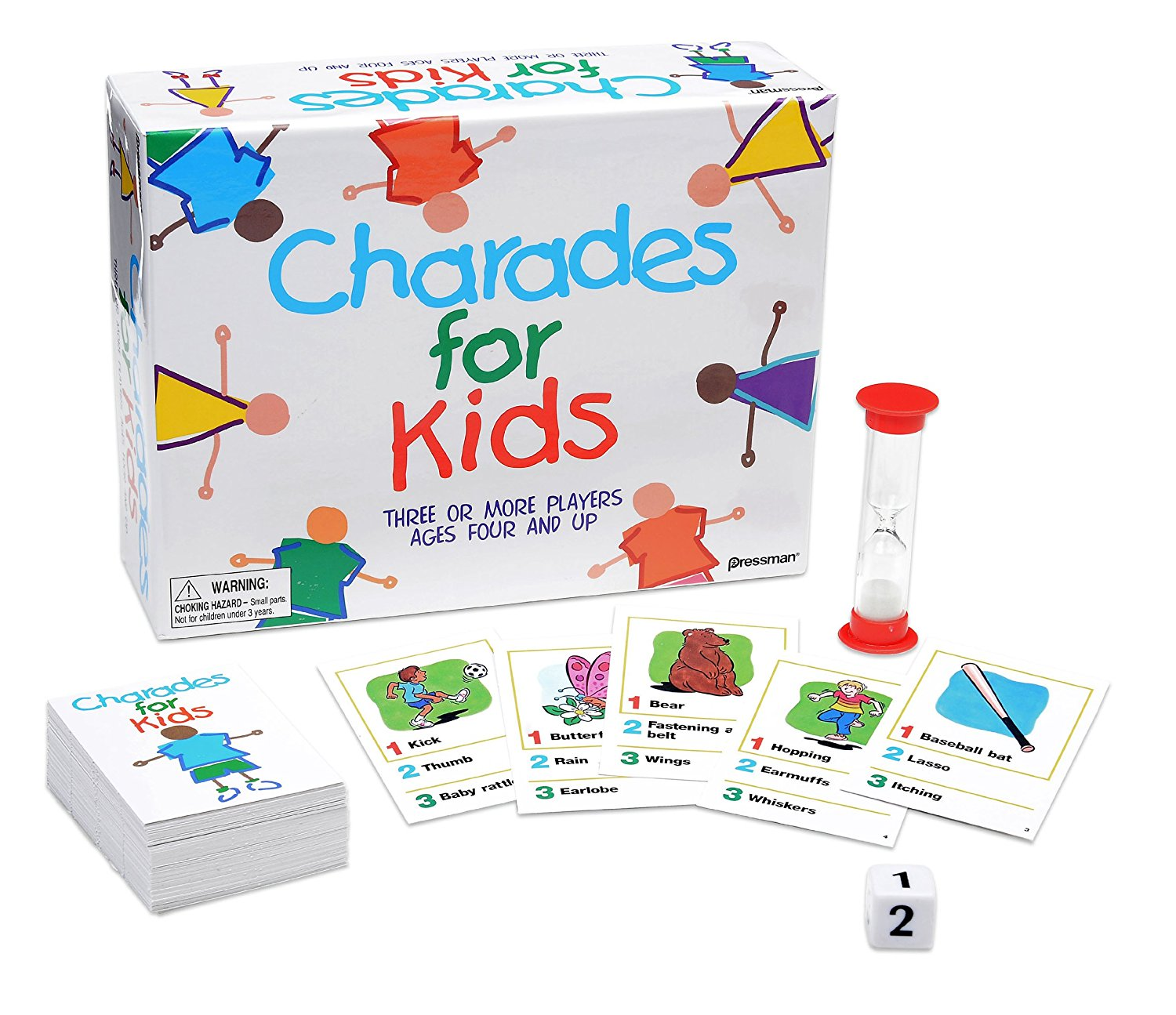 Charades for Kids, USA, Brand Pressman Toy by