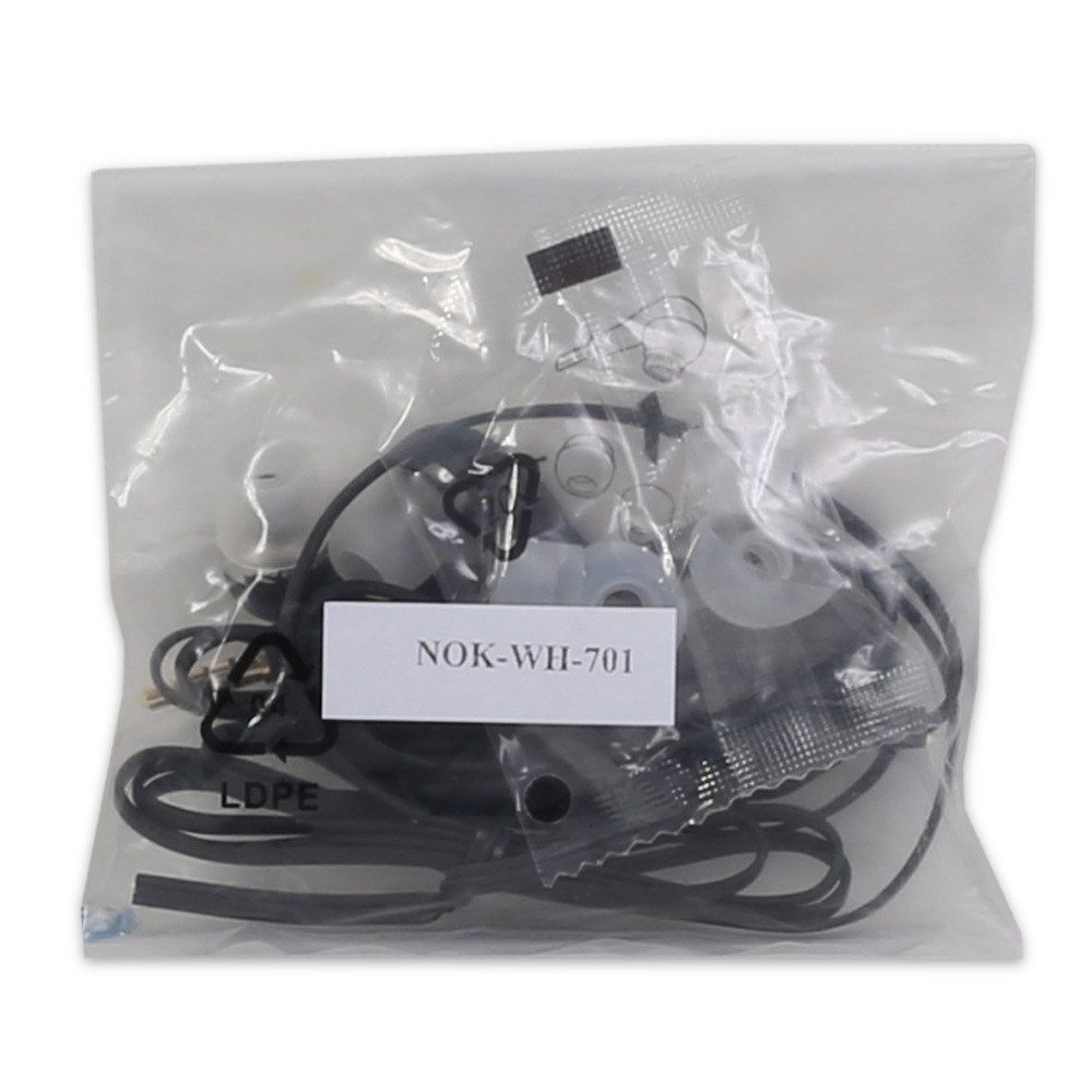Nokia OEM WH-701 WH701 Stereo In Ear 3.5mm Headphones Handsfree Headset - Black