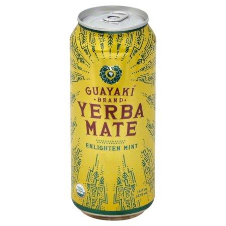 Guayaki Organic Brand Yerba Mate Enlighten Mint, 16 (Best Yerba Mate Tea Brand)