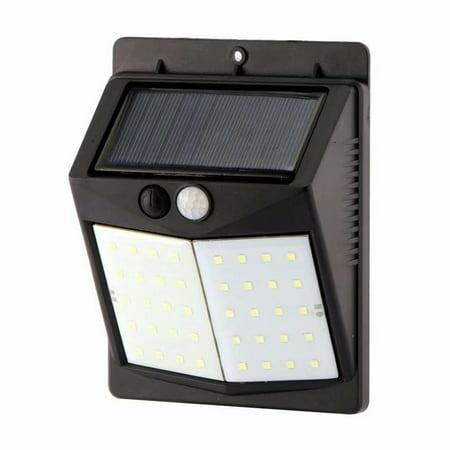 1pcs High Efficiency LED Solar Lamp 40 LED 2 Mode PIR Motion Sensor Wall Light Outdoor Waterproof IP65 Path Home Garden Safety Light