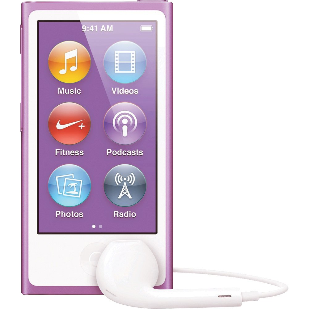 Apple iPod Nano 7th Generation 16GB Purple, Brand New in Retail Packaging ( MD479LL/A)