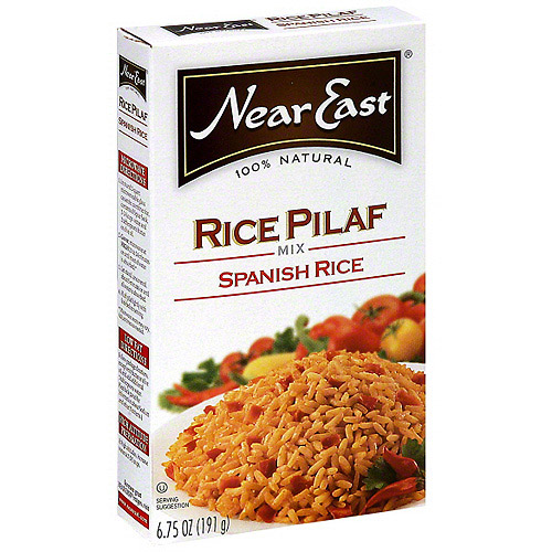 Near East Spanish Rice Pilaf Mix, 6.75 oz (Pack of 12)