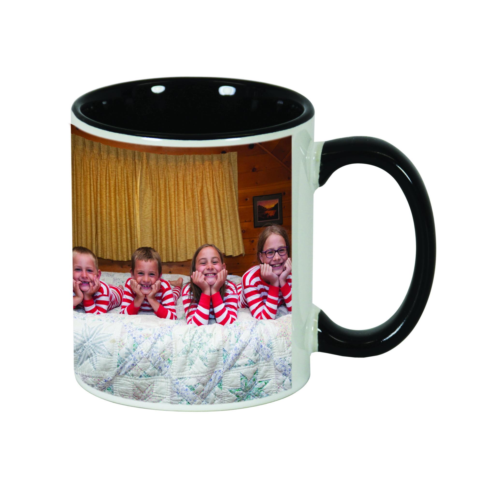 Black Photo Mug 11 oz
