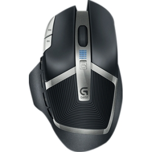 Logitech G602 Wireless Gaming Mouse - Optical - Wireless - Radio Frequency - Black - USB 2.0 - 2500 dpi - Scroll Wheel - 11 Button(s) - Right-handed Only
