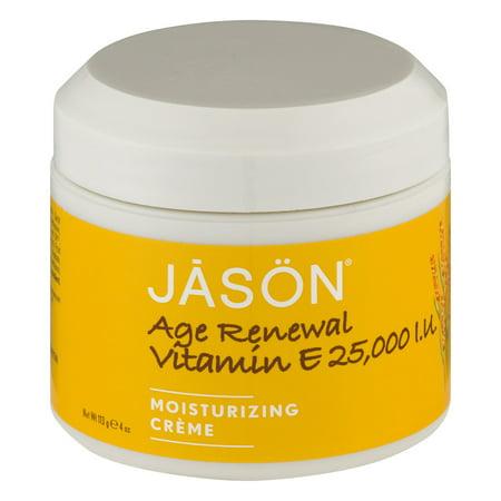 JASON Vitamin E 25000 IU Facial Moisturizers - 4oz