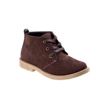 Joseph Allen Little Boys Brown Lace-Up Casual Ankle Boots ()