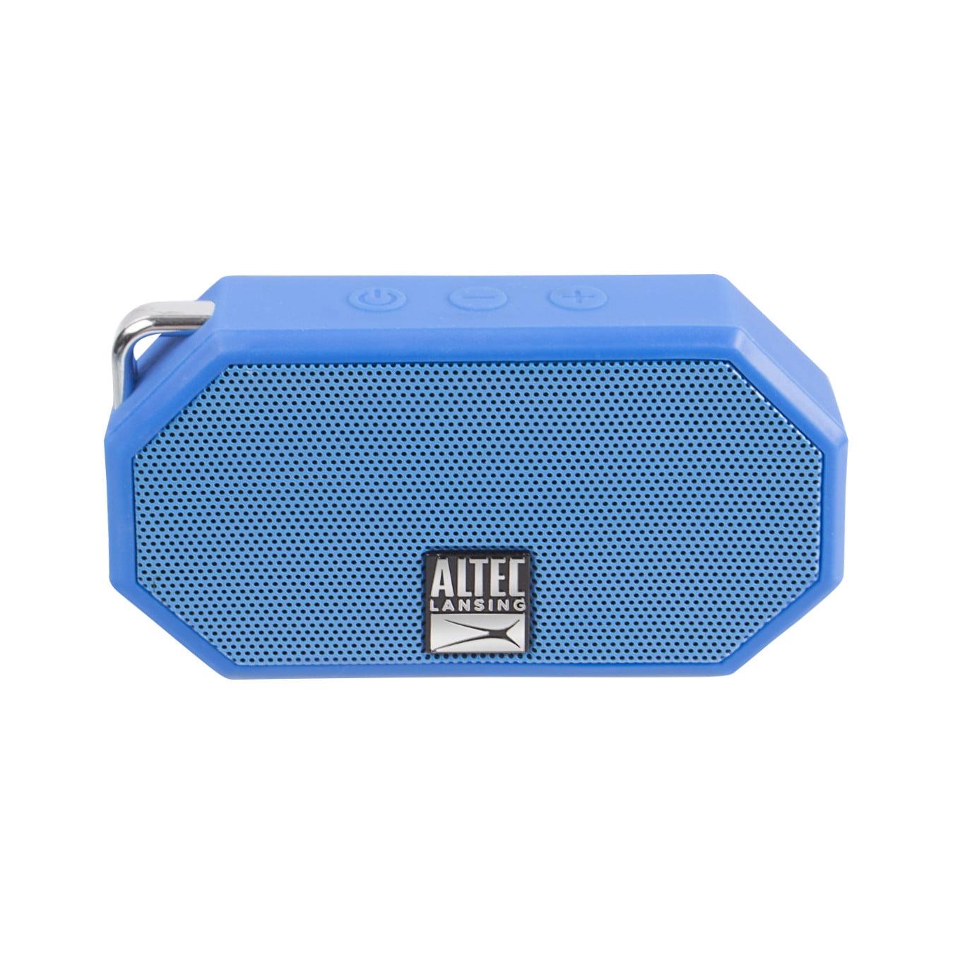 Altec Lansing Mini H20 Bluetooth Speaker Blue