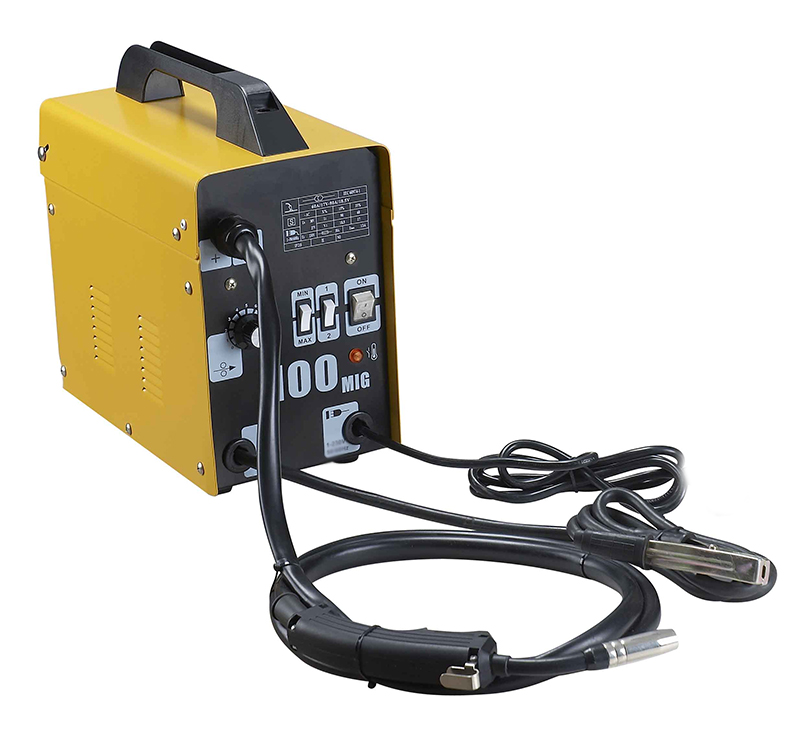 Stark MIG 100 GAS Less Flux Core Wire Welder Welding Machine with Cooling Fans 90 AMP