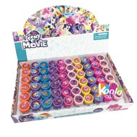 60pcs My Little Pony the Movie Self-inking Stamps Party Favors (Complete Box)