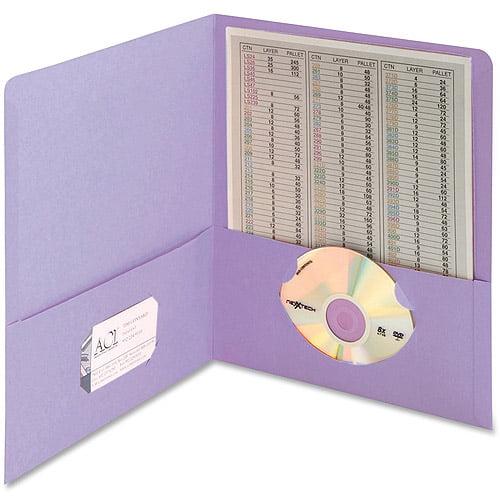Smead Standard 2-Pocket Heavyweight Stock Folders