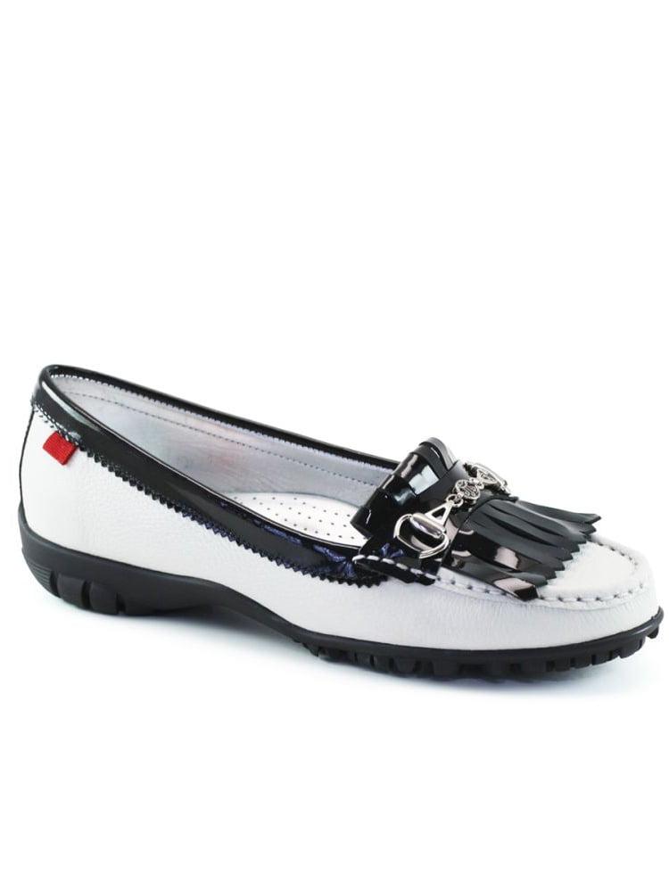 Marc Joseph Lexington Golf Shoes (White