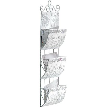- Letter Organizer Wall Mount, Classic File Sorter Mail Folder White Letter Storage