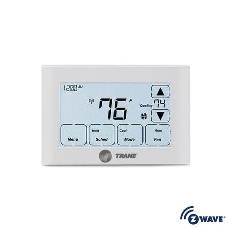 Trane TZEMT524 7-Day Programmable Digital Thermostat with Z-Wave (Best Z Wave Thermostat)