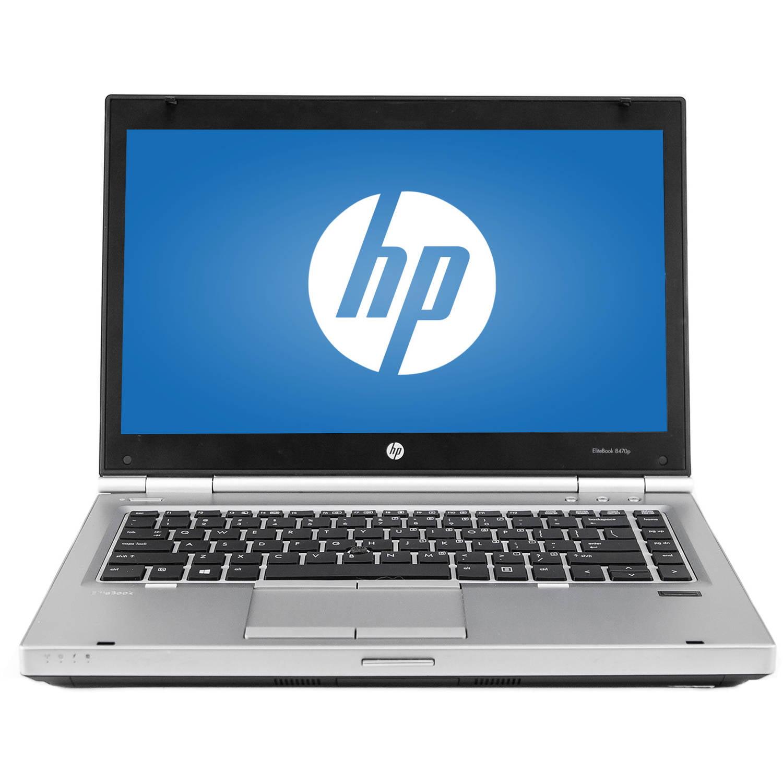 "Refurbished HP 14"" EliteBook 8470P Laptop PC with Intel Core i5-3320M"