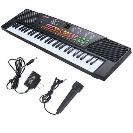 Hammond Organ Music - Costway 54 Keys Music Electronic Keyboard Kid Electric Piano Organ W/Mic & Adapter