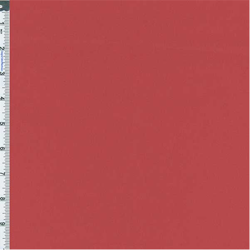 Coral Red Stretch Canvas, Fabric By the Yard