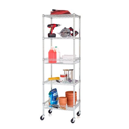 Chrome Wire Shelving Post (HSS 18