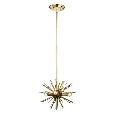 Dimond Home Starburst 3 Light Pendant Light