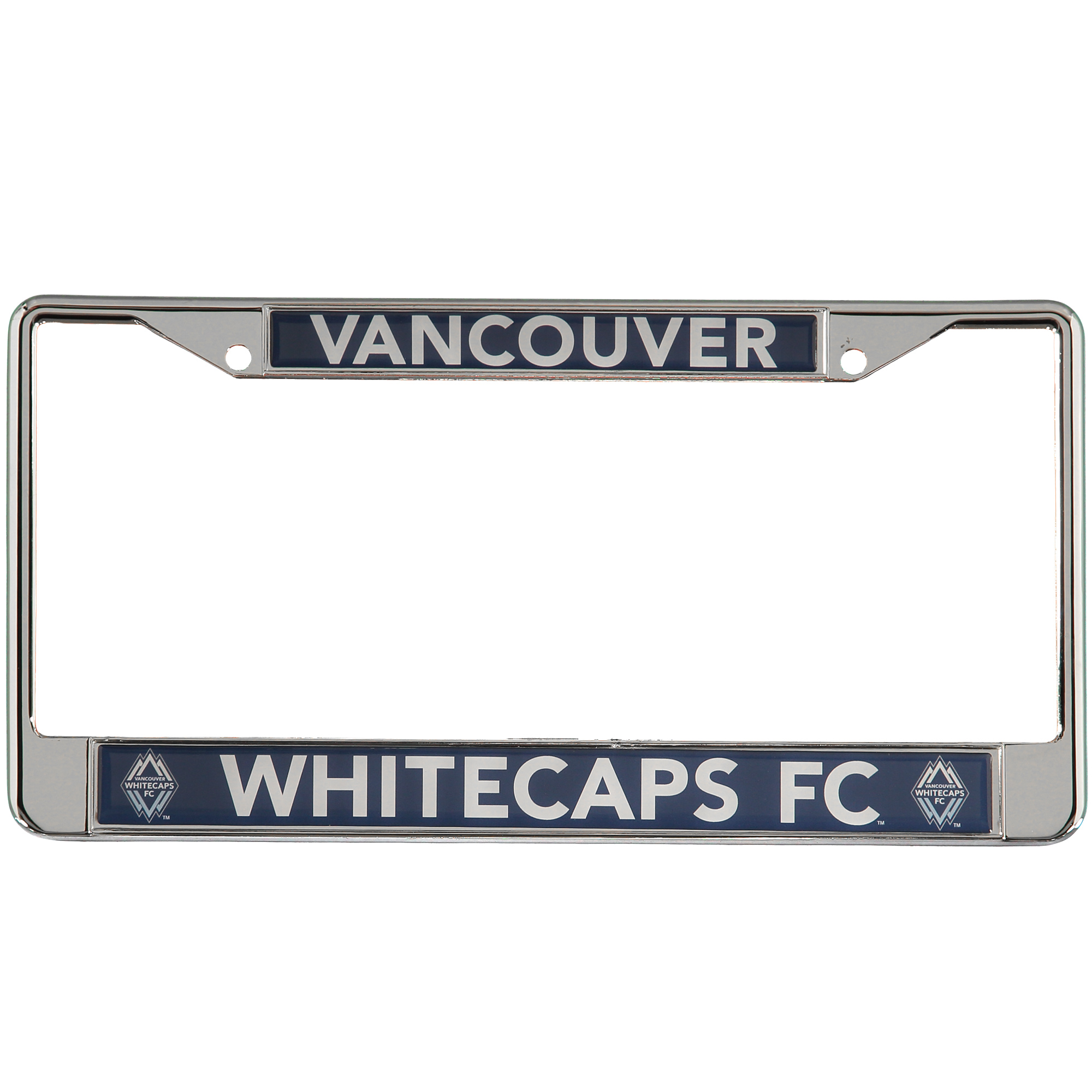 6 x 12 MLS Metal License Plate Frame Vancouver Whitecaps