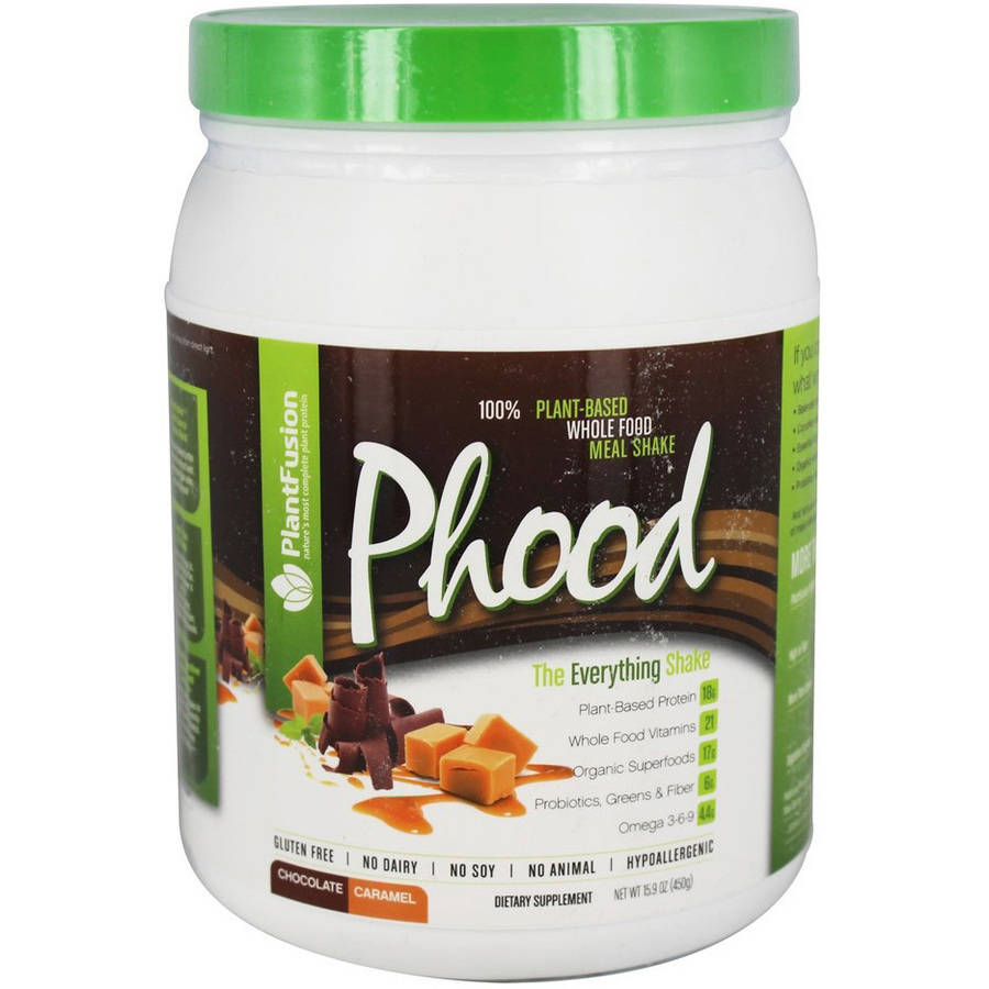 Plantfusion Phood Chocolate Caramel Supplement, 1 LB
