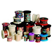 School Specialty Wood Craft Spool Assortment, Assorted Sizes, Assorted Colors
