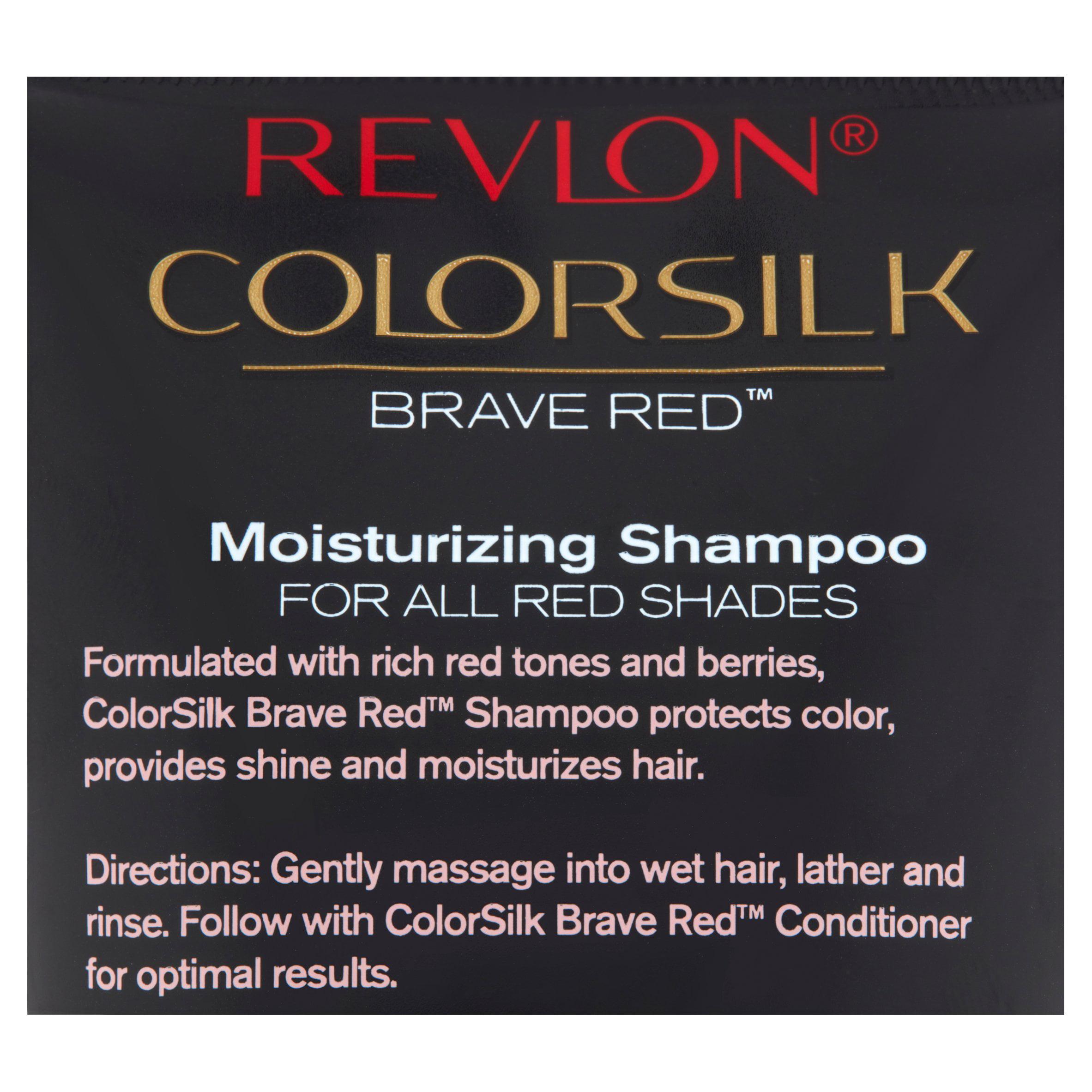 Revlon Colorsilk Bold Black 1 Colorstay Moisturizing Shampoo 8 45 Fl Oz