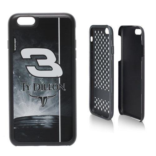 Ty Dillon 3 Rugged Number Design Apple iPhone 6 Rugged Case by Keyscaper