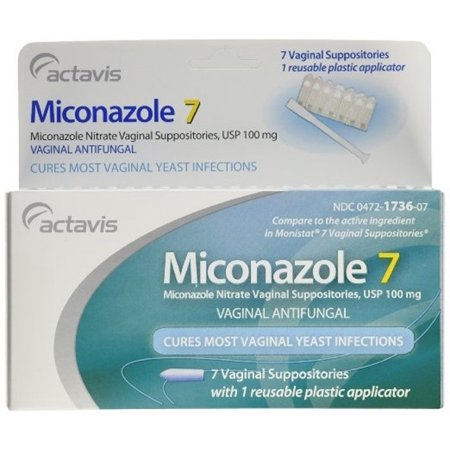 [3 PACK] MONISTAT GENERIC MICONAZOLE® 7 DAY 100MG VAGINAL