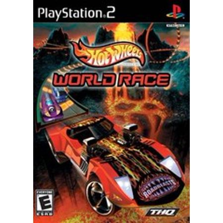 Hot Wheels World Race - PS2 Playstation 2 (Refurbished)