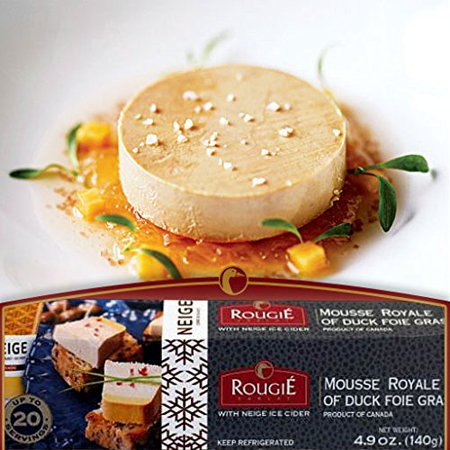 Rougie Mousse Royal of Duck Foie Gras w/ Ice Cider - 4.9 oz. - Not For Sale in CA