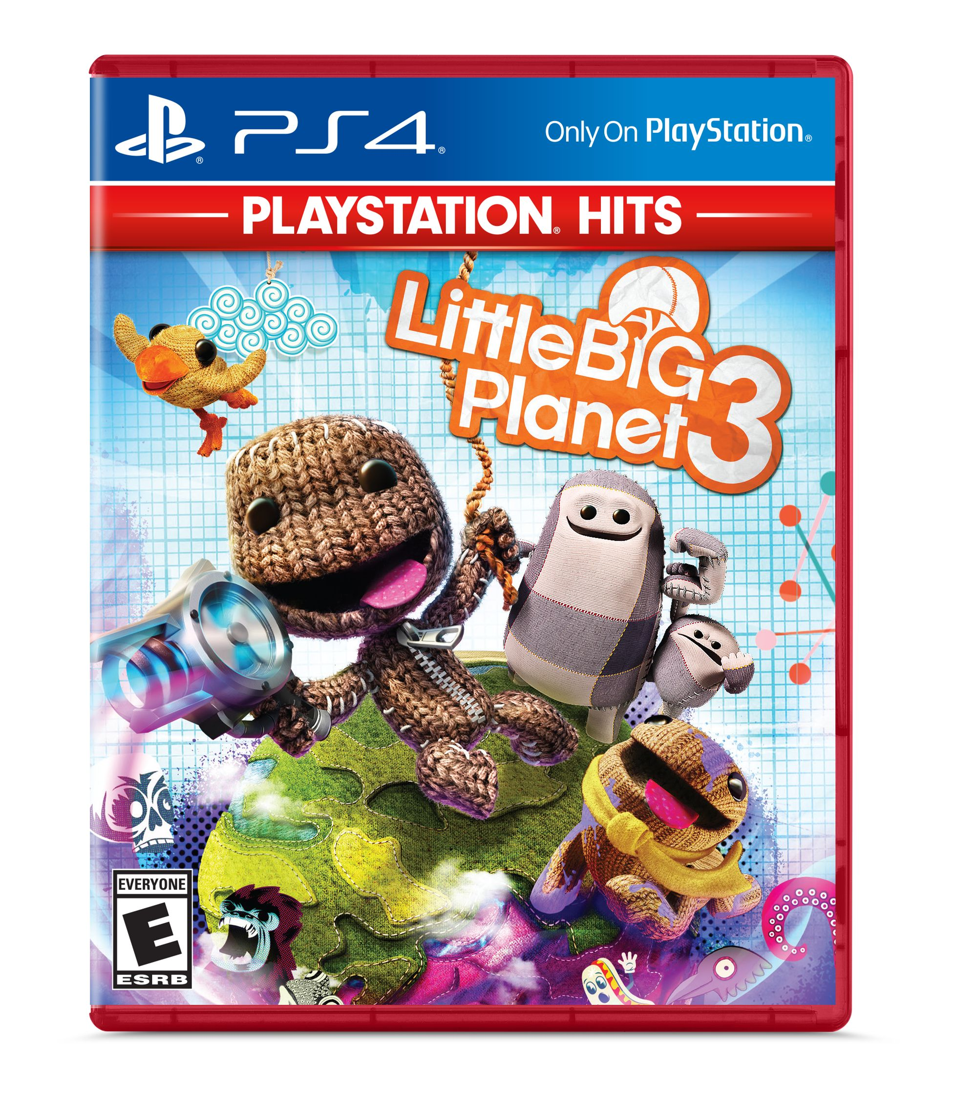 LittleBigPlanet 3 - PlayStation Hits, Sony, PlayStation 4, 711719523178