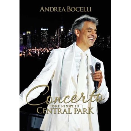 ANDREA BOCELLI-CONCERTO ONE NIGHT IN CENTRAL PARK (DVD) (DVD) - Central Park Zoo Halloween Events