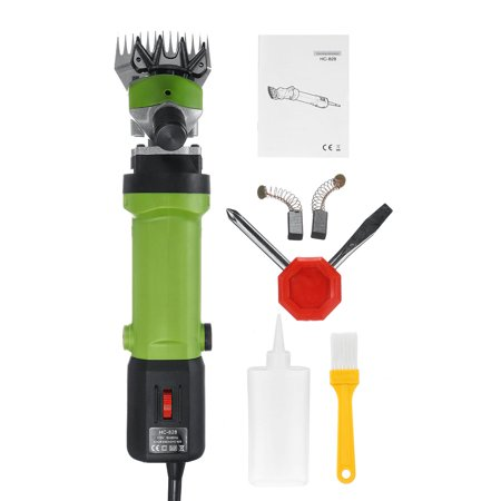 1200W Sheep Shears, Portable 6-Speed Sheep Shears Electric Hair Clipper Goats, Alpaca, Camels, Cattle and Horses Thick Skin and Heavy Animals, Farm Animal Hair Grooming thumbnail