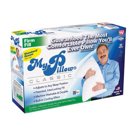MyPillow Standard Queen Firm Fill, As Seen on TV
