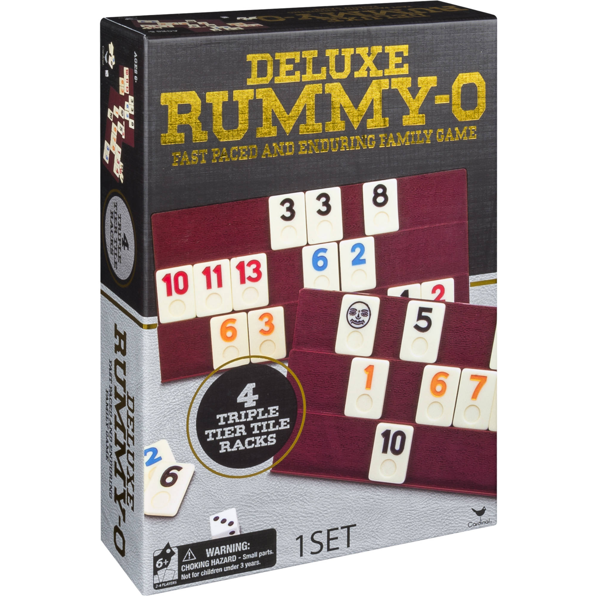 Deluxe Rummy-O, Fast Paced and Enduring Family Game