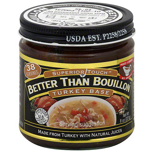 Superior Touch Better Than Bouillon Turkey Soup Base, 8 oz (Pack of 6)