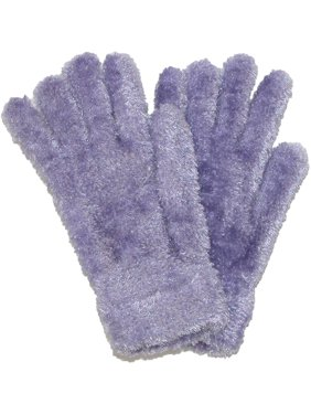 Women's Chenille Solid Winter Stretch Gloves