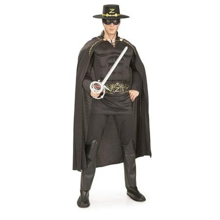 Deluxe Zorro Adult Halloween Costume - Deluxe Zorro Costume