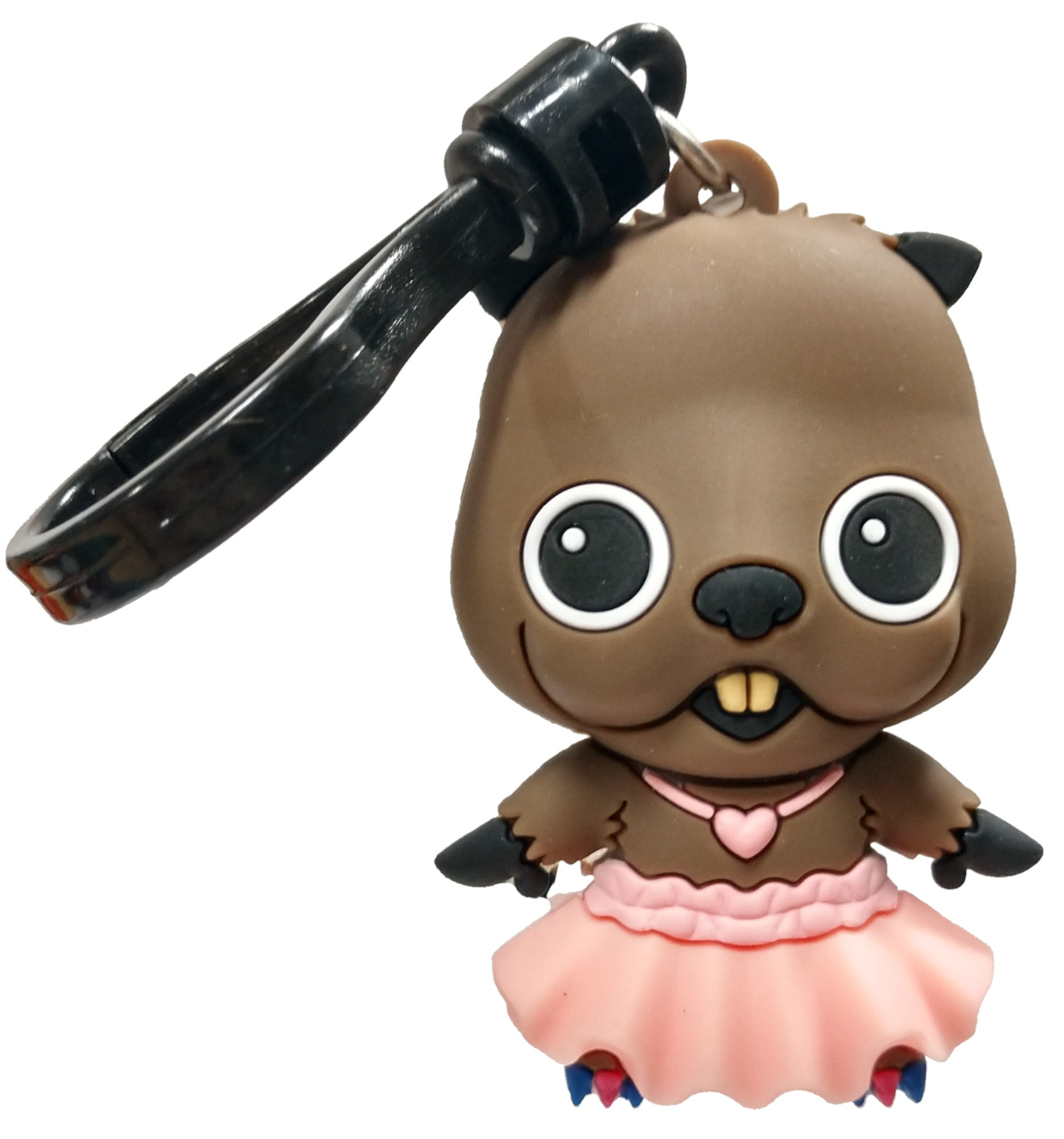 Monogram International Dc Birds Of Prey Beaver In Tutu Keychain No Packaging Walmart Com Walmart Com