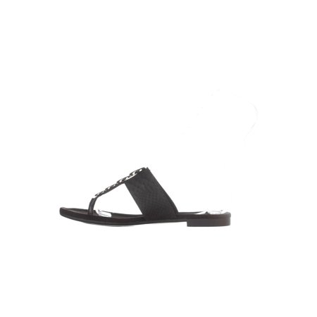 450b4c95a3 Alfani - Alfani Womens Henii Split Toe Casual Slide Sandals - Walmart.com