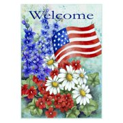 Toland Home Garden Patriotic Welcome Flag