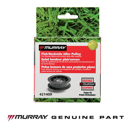 Murray 421409MA Genuine Idler Pulley with 3-3/8-inch Outside Diameter and 0.5-inch Inside Diameter - Also Replaces Murray -