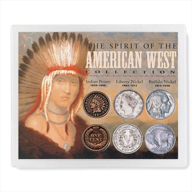 American Coin Treasures 1751 Spirit of the American West Coin Collection